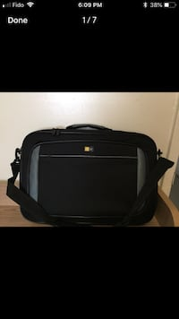 Black and gray laptop bag (Case Logic) London, N5Y 4K5