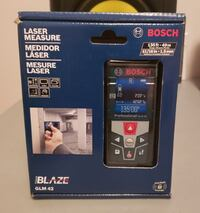 Bosch Blaze 135-ft Laser Distance Measure with Bac Burnaby