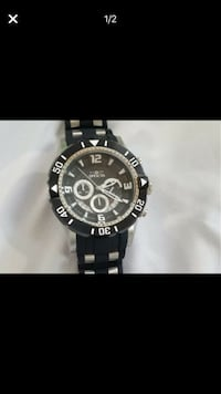 NEW without a box, Never worn!! Water resistant carbon chronograph date analog watch ..Excellent condition........... about three months old, grandson just wants something different................................... Retail price $215 Woodbridge, 22191