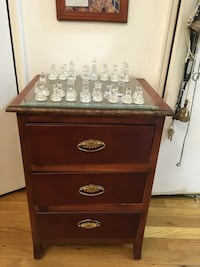 Wood night table. Not chest including New York, 11223