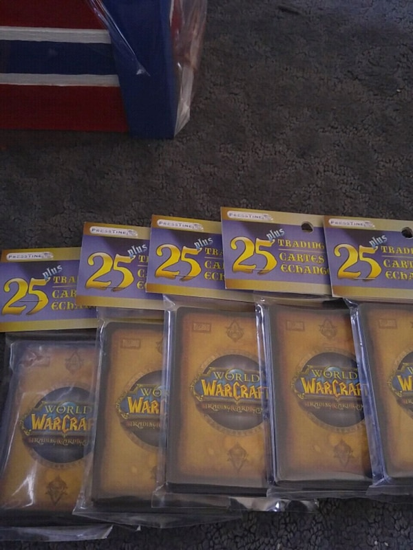 World of Warcraft Cards