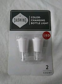NEW: Dashing Fine Gifts / Color Changing Bottle. Lowell, 01850