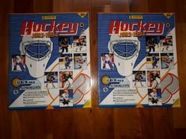 Albums ďautocollants NHL hockey 1993-1994 Panini stickers albums 50$