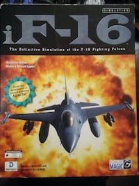 iF-16 Fighter Falcon Flight Simulation Victoria