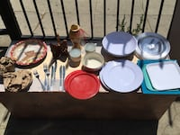 Miscellaneous plastic plates and bowls Los Angeles, 90027