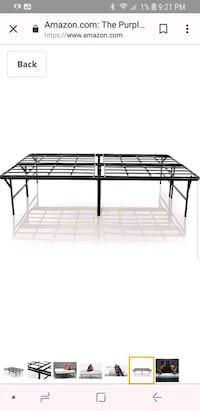 Brand New Metal king size Bed Frame from Purple  Los Angeles, 90027