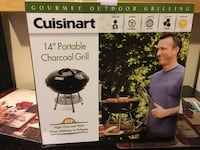 Cuisinart portable charcoal grill box San Diego, 92110