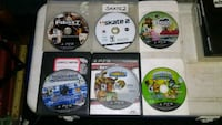 Lot of 6 Sony PS3 video games Webb City, 64870