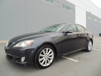 2009 Lexus IS 250 Sport AUTOMATIC LEATHER LOCAL MUST SEE! NEW WESTMINSTER, V3M 0G6