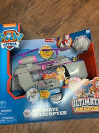 New Paw Patrol Ultimate Helicopter with Marshall