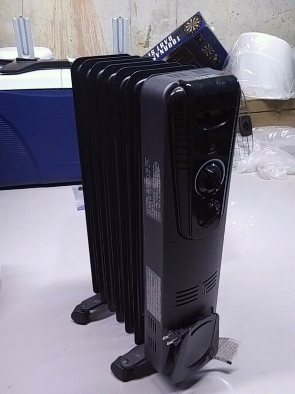 Electric oil radiant heater