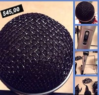 Black and blue condenser microphone Montreal, H4E 2B1