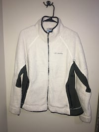 Women's XL COLUMBIA cream and hunter green Columbia jacket Plymouth, 55442