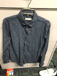 gray and black button-up long-sleeved shirt Pensacola, 32503
