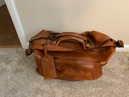 Genuine Leather Luggage  Bags