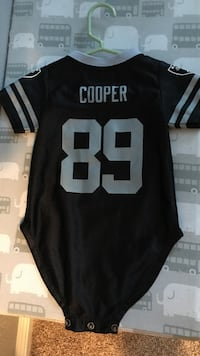 raiders jersey size 12 months, never worn Vacaville, 95687