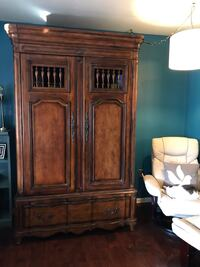 High end Butler armoire, powered with velvet lined drawers. Westminster, MD. You move Hyattsville, 20782
