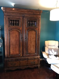 High end Butler armoire, powered with velvet lined drawers. Westminster, MD. You move Westminster, 21157