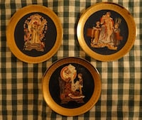 ROYAL CORNWALL 1980 LEYENDECKER FOUR FACES OF LOVE CLASSIC COLLECTION PLATES Fort Myers Shores