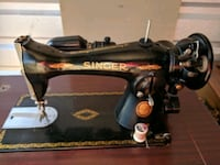 Singer sewing machine with built in table  Exeter, 18643