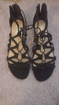 pair of brown open-toe sandals Belleville, K8P