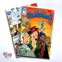 The New Guardians #1 + 2 Comic Books Toronto