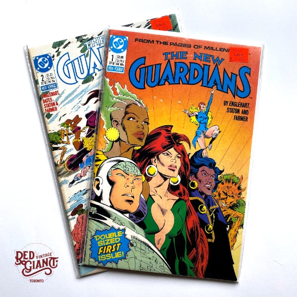 The New Guardians #1 + 2 Comic Books