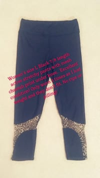 womans active capri pants  Surrey, V3S 7H5