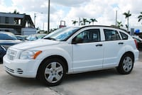 2007 Dodge Caliber - White/Gray - 96,626 Miles West Palm Beach