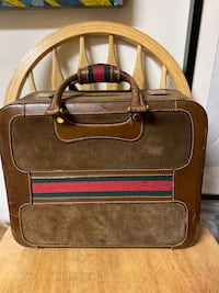 Authentic Vintage Gucci Train and Beauty Case