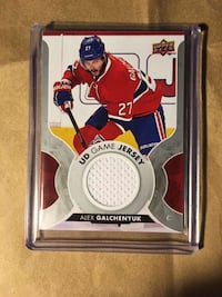UD Game Jersey 17-18 Alex Galchenyuk North Vancouver, V7R 3A5