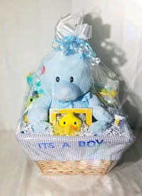 Baby Shower Gift Basket With Pampers Omaha, 68111