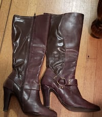 Ladies Vianni Collection Boots - Brown, Black and Vancouver