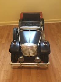 Toddler's black and brown ride on electric toy car $80.00