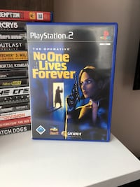 No One Lives Forever PS2 (Playstation 2) Oyunu