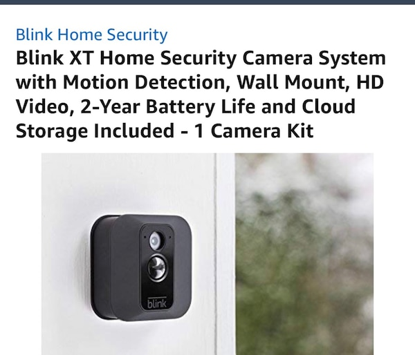 BRAND NEW IN BOX BLINK XT SMART HOME SECURITY CAMERA SYSTEM