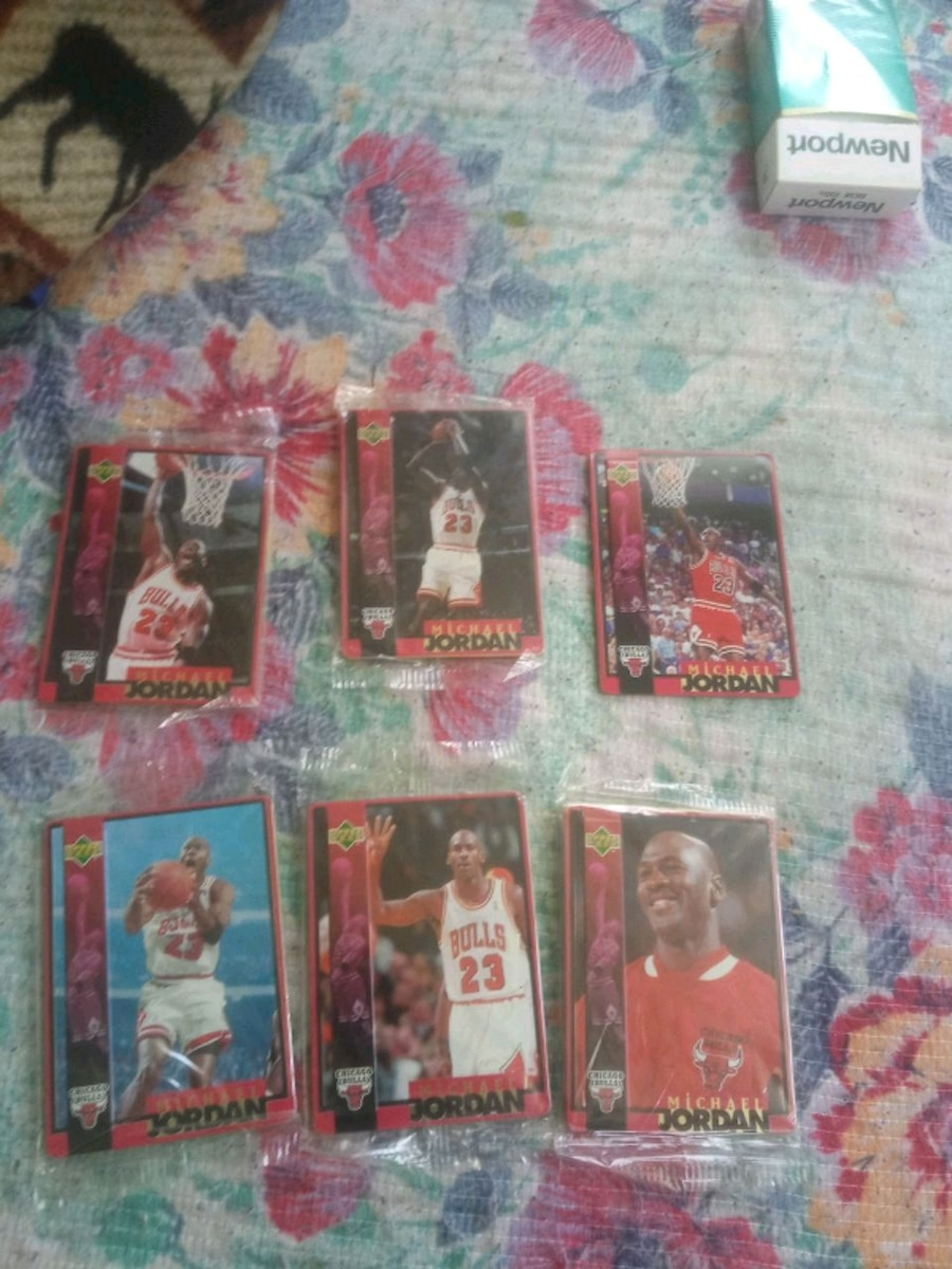 Photo Michael jordan basketball cards