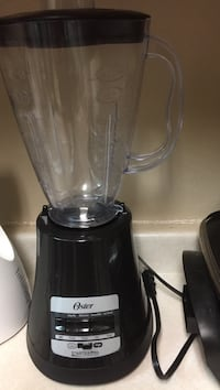black and gray Oster blender أوشكوش, 54901