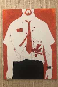 Shawn of the dead painting