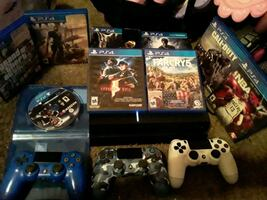Ps4 & games and control Everything for 225