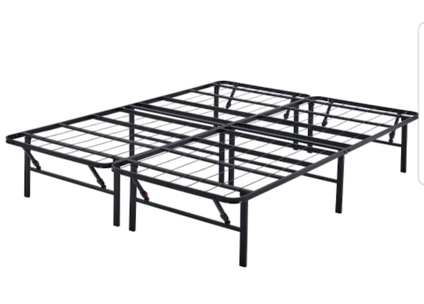 Queen Sized Collapsable Bedframe d46fe3f4-421a-4982-b57f-050ddb249b96