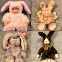 Collectible Plush Bunnies Catonsville, 21228