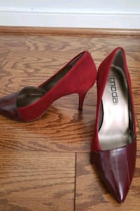 Dual Red tone leather& Suede Shoes McLean, 22102