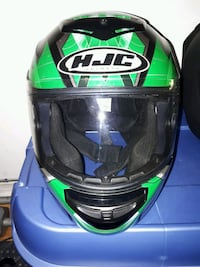 green and black HJC full-face helmet Richmond Hill, L4E 4P4