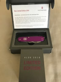 Limited edition Swiss Army knife 2016 New York, 11235