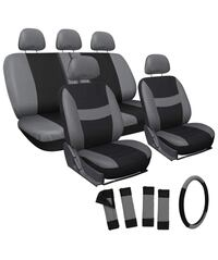 Car Seat Cover-Grey/Black-Brand New Toronto, M1R 3N6