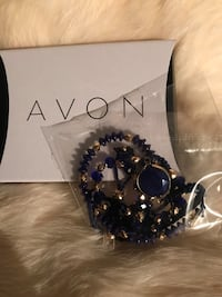 Avon Lovely Layers Bracelet Set - Blue Deptford, 08096