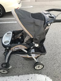 Chicco Cortina Travel system - Stroller+Car Seat+Base Richmond Hill, L4C 9R4