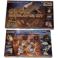 Lego Star Wars Mindstorms Droid Developer Kit #9748  Excellent Condition!  Used once.  All pieces are in the box.  Please create a Droid hundreds of your own by using the three levels of Jedi apprentice, Jedi Knight, Jedi master, of these issues. As a bra Toronto
