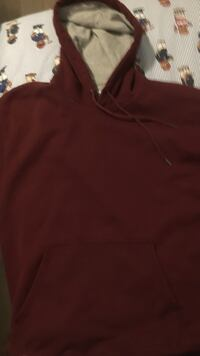 red drawstring pullover hoodie North Vancouver, V7R 2R5